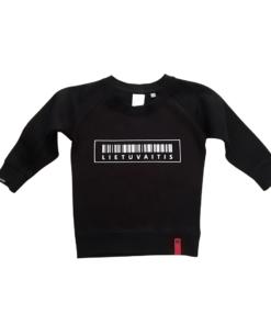 ne bobų reikalai, berniukui juodas džemperis, lietuvaitis, myliu lietuvą, juodas džemperis