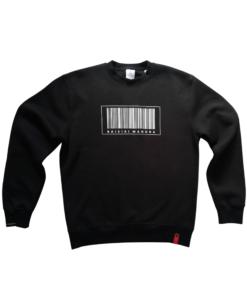 moteriškas juodas džemperis baisiai mandra, moterims, dovana, dovanai, idėja dovanai, moteriška apranga, ne bobų reikalai